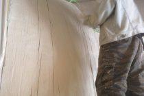 モルタル造形 大きい樽編