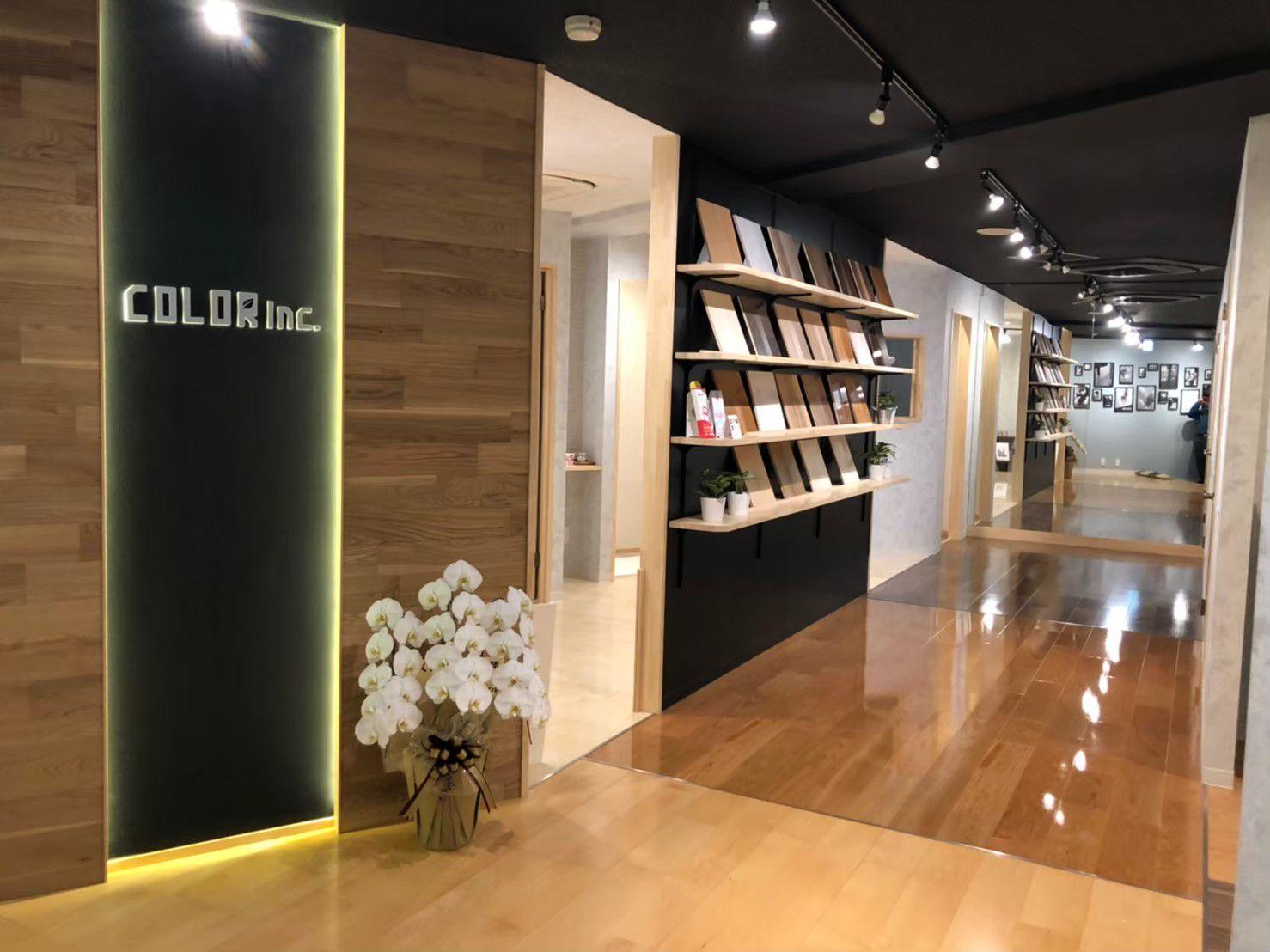 COLOR Inc -showroom- 写真